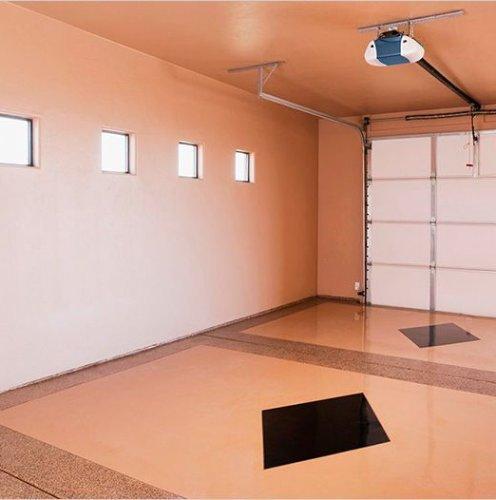 Внутренняя отделка гаража 3